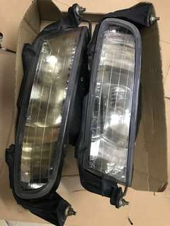 Alphard bumper 原廠射燈 一對