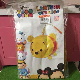 🚚 正版迪士尼Tsum Tsum小熊維尼聲光燈籠