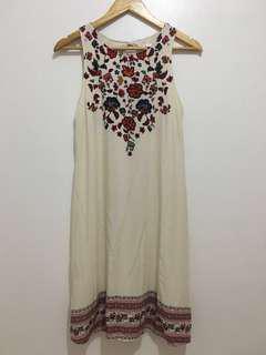 Xhilaration Floral Open Back Dress
