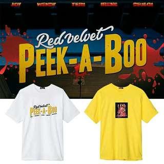 Red Velvet Peek-a-boo Tshirt