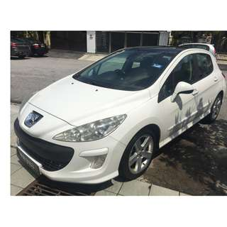 Peugeot 308 Turbo Panoramic 1.6 (A) LikeNew 1 owner
