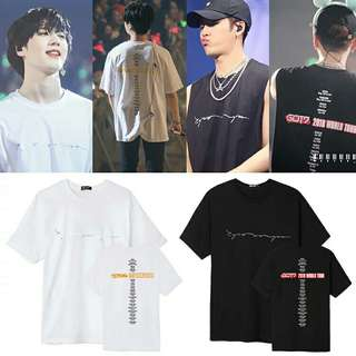 GOT7 2018 world tour Tshirt