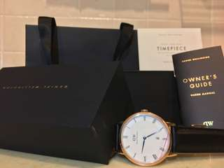 Daniel Wellington Dapper Sheffield 38mm Gold