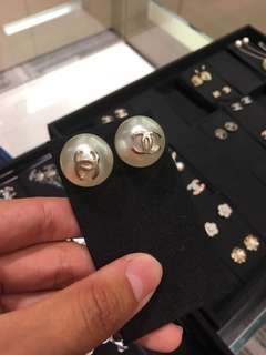 Chanel Earrings 耳環 大珍珠