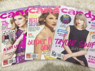Taylor Swift Candy Magazine Bundle