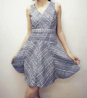 Elegant dress by Quin (from local designer)