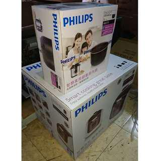 來喔~自己的電鍋自己簡單拍賣啦!-牌子:飛利浦PHILIPS智慧萬用鍋(紫)型號HD2179