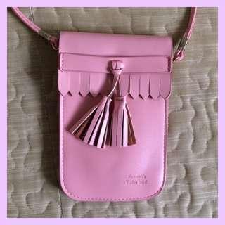 Miniso Pink Sling Bag