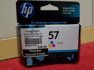 HP Ink Cartridge 57 Tri-Colour