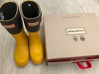 Hunter小童rainboot