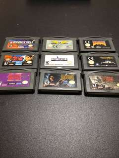 GBA games rare