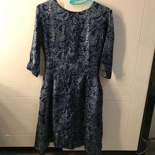 Alleira dress (bahan batik alleira)