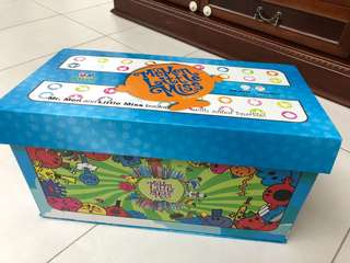 Mr Men Little Miss 中文 Box Set (21本書)連點讀筆