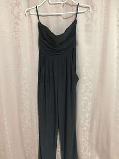 Freeway black tube jumpsuit