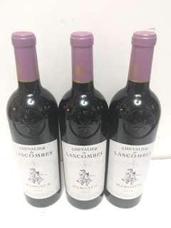 三支Lascombers2014年法國三支箭紅酒75oml