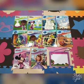 Disney Colouring and Activities Books Bundle