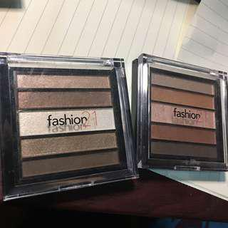Fashion21 Eyeshadow Kit in #5 and #4