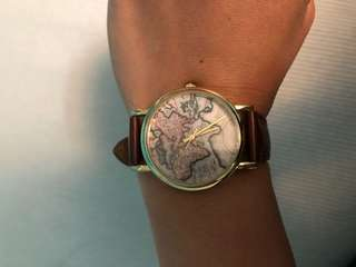 Urban Outfitters Map Watch