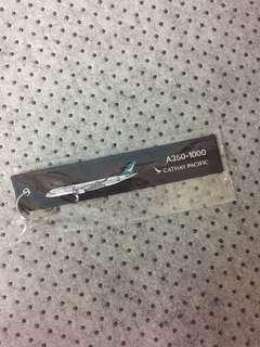 Cathay Pacific 國泰航空A350-1000 Keychain 鑰匙扣