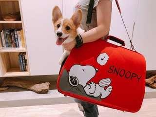 🚚 7-11史努比可摺疊兩用寵物外出提袋