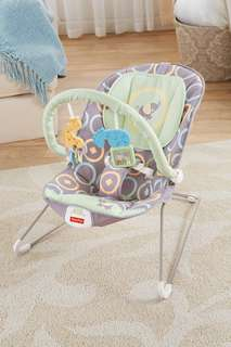 ~Ready Stocked~ Fisher-Price Baby comfy time Bouncer rocker, Luminosity