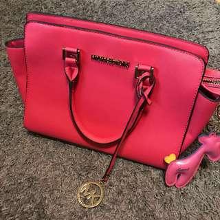 🚚 少女心噴發MK造型粉紅包包