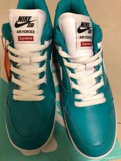 🚚 Nike x supreme  suprize 購入  全新 鞋盒吊牌未拆 us10 可議價