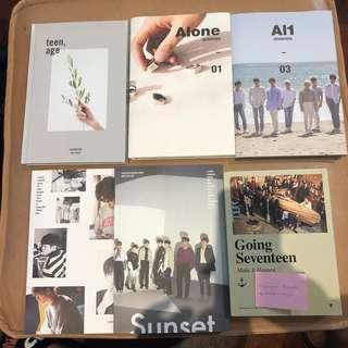 WTS Seventeen, EXO, NCT, SF9, BAP, Victon, Got7
