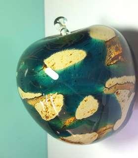 Glass Apple 玻璃幻彩蘋果球