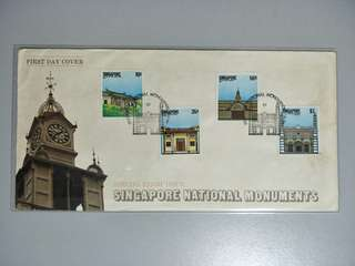 Singapore FDC National Monuments