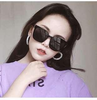 🚚 新款方型太陽眼鏡明星同款墨鏡男女顯臉小眼鏡