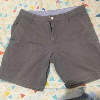 slim fit above the knee shorts
