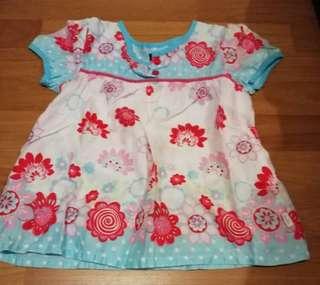 Pumpkin Patch kid dress/ blouse