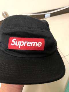 🚚 Supreme 5分切割帽  後皮扣 可議價 9成新