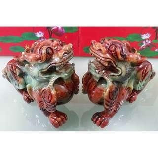 27 cm Old Jade Pi Xiu - 27 公分老玉貔貅