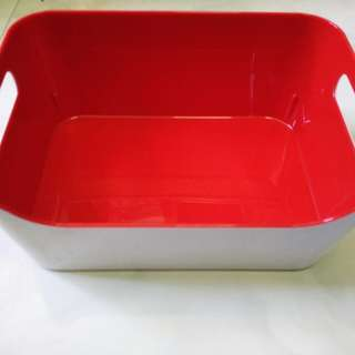 Multi purpose plastic container