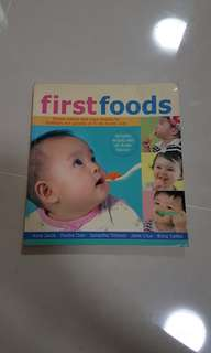 Baby First Foods Book
