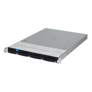 1U 4-Bay HDD NAS Server Chassis SAS/SATA Hotswap Backplane
