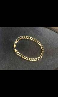 9ct solid gold bracelet