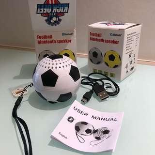 Football bluetooth speaker