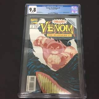 Venom: The Madness 1 CGC Marvel Comics Book Avengers Movie Spiderman