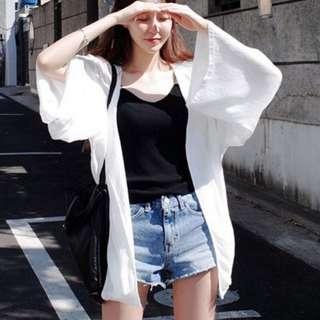 雪紡防曬罩衫