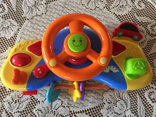 Interactive Steering Wheel Toy