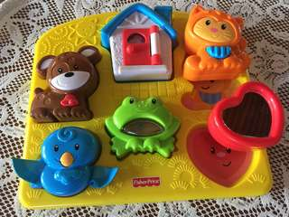 Fisher Price Fun Animals Activity Puzzle