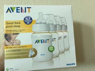 Philip Avent PES bottles 4x9oz/ 260ml