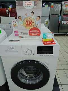 Mesin cuci daewoo bisa di cicil tanpa DP