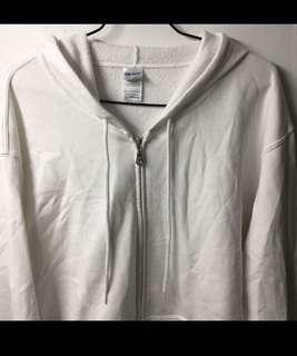 Gildan White Jacket
