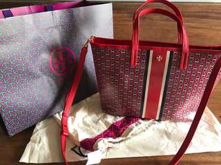 Tory Burch Gemini Link small tote authentic 💯