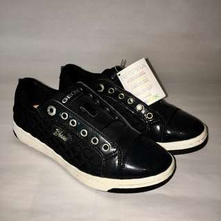 Geox - Black Nylon sneakers