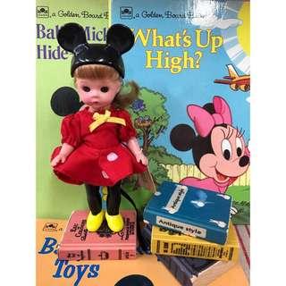 🚚 稀少絕版款古董娃娃-MADAME Alexander亞歷山大娃娃-麥當勞合作款-Disney 迪士尼米妮款公仔娃娃